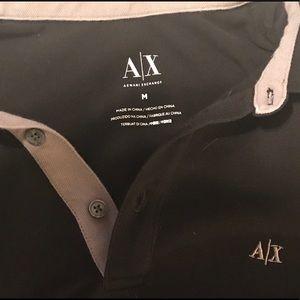 Armani Polo black, medium, like new